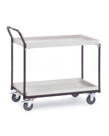 Fetra ESD-Tischwagen mit Kästen