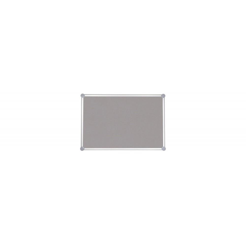Pinnboard 2000 Pro, Textil Grau