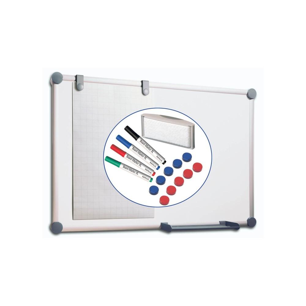 Whiteboard 2000 Pro, Komplett-Set Grau